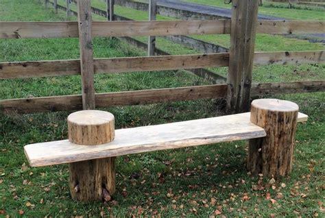 stump bench stump bench custom handmade log furniture