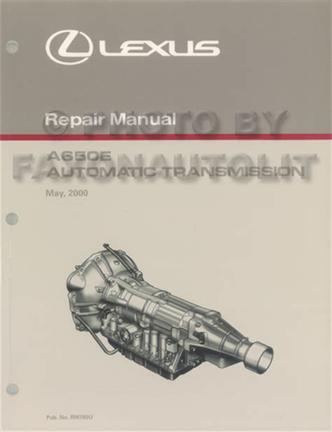auto repair manual online 2005 lexus gx transmission control 2001 2005 lexus is 300 automatic transmission repair shop manual original