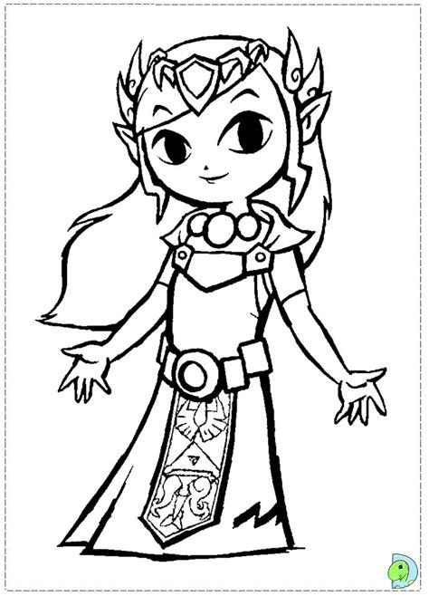 princess zelda coloring page princess zelda coloring pages az coloring pages