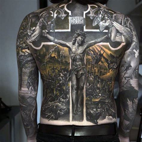 religious back tattoos 100 religious tattoos for sacred design ideas