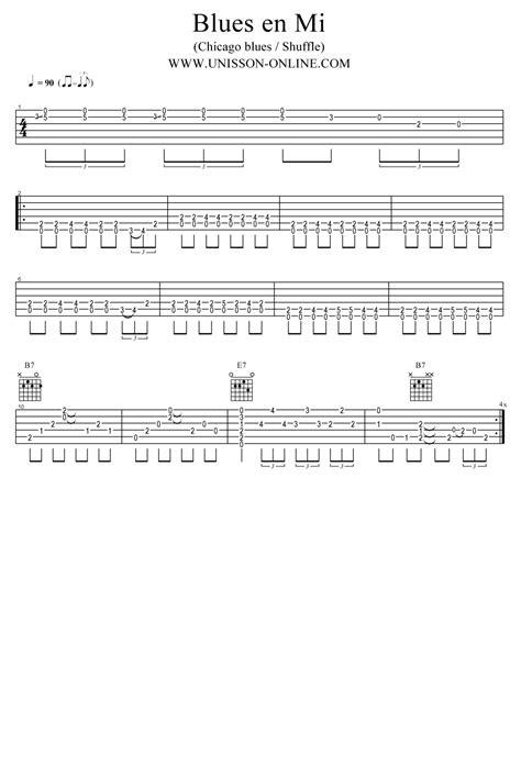 mi tab themes blues en mi tab guitar pro chicago blues shuffle