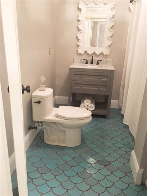 bathroom scales carpet 3 small bathroom ideas using moroccan fish scales