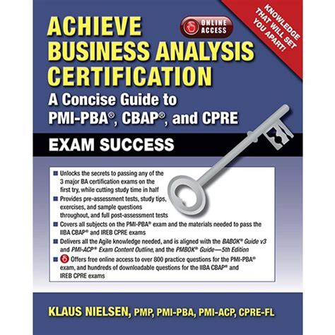 achieve business analysis certification the complete