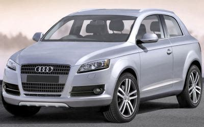 Build An Audi Q3 by Audi To Build 3 Door Suv Wheels24