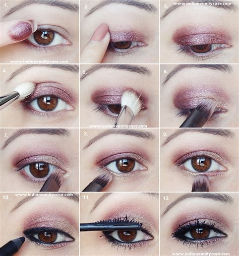 tutorial eyeshadow wardah seri m indian vanity case 2 in 1 eye makeup tutorial metallic