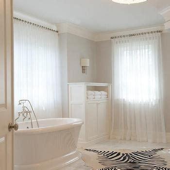 cowhide bathroom rugs cowhide rug bathroom cottage bathroom benjamin