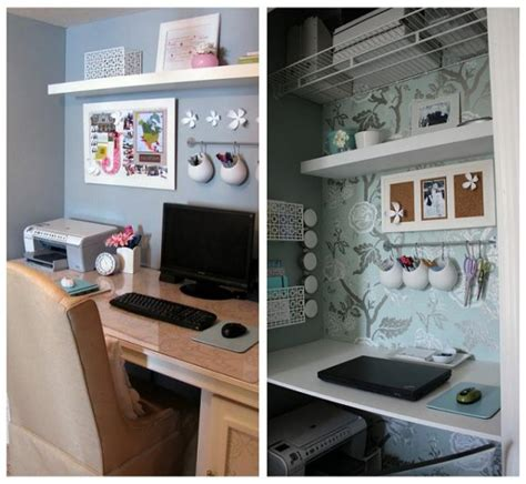 closet desk ideas closet home office ideas