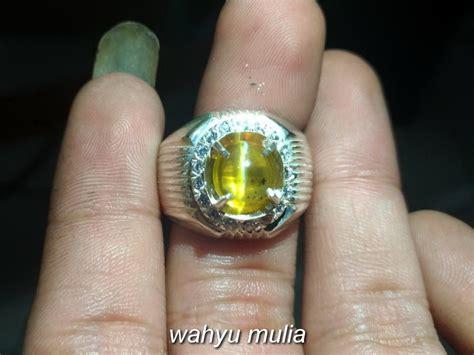 Batu Opal Cat Eye batu cincin opal cat eye mata kucing asli kode 785