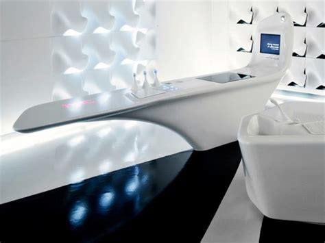 Corian Zaha Hadid by Decors 187 Archive 187 Futuristic Kitchen By Zaha Hadid
