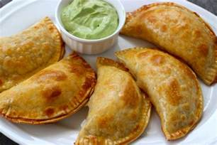 Easy Cocktail Party Food - chicken cheese and mushroom empanadas