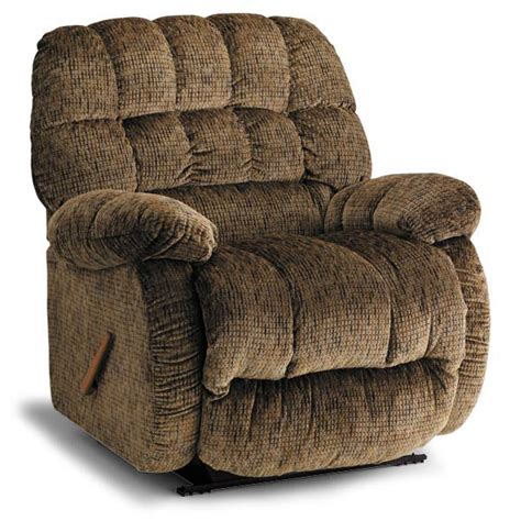 Big Recliner by Roscoe Big Oversized Rocker Recliner