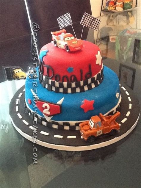 Olest Cars  Cake For A  Year Old  Ee  Boy Ee   Disney Cake