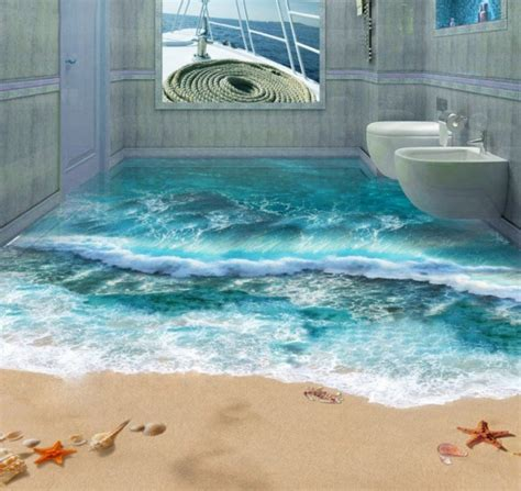 3d bathroom flooring amazing 3d floors an optical illusion