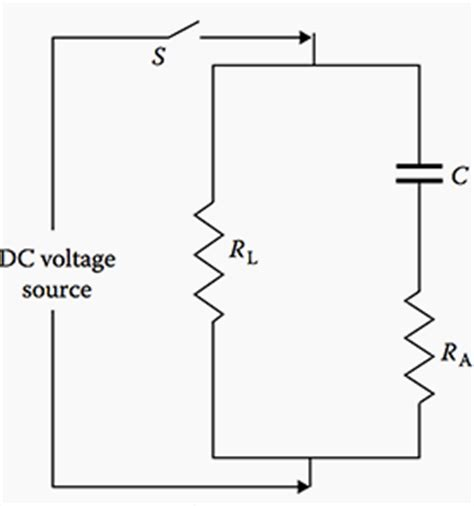 capacitor leakage current formula leakage current of capacitor formula 28 images capacitance charging and discharging of a