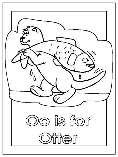 otter coloring pages preschool river otter coloring pages coloring home