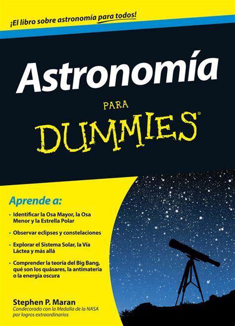 libreria digitale gratis astronomia para dummies xlibros librer 205 a digital gratis