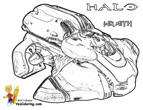 halo coloring online coloring pages