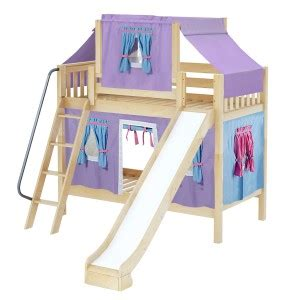 Maxtrix Single Over Single Bunkbed With Angled Ladder Bunk Bed Ottawa