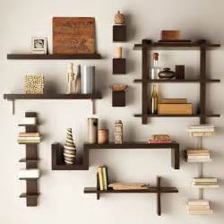 modern wall shelves decorating ideas magnificent multi shade modern wall shelves for storage as