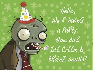 plants vs zombies invitation template caution may contain small parts birthday archives