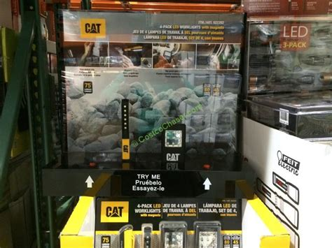 cat led work light costco cat led worklights with magnets 4 pack costcochaser