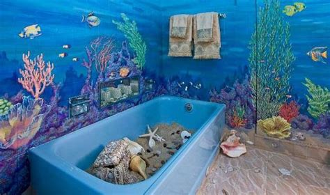 Fish Themed Bathroom Accessories 30 Modern Bathroom Decor Ideas Blue Bathroom Colors And Nautical Decor Themes