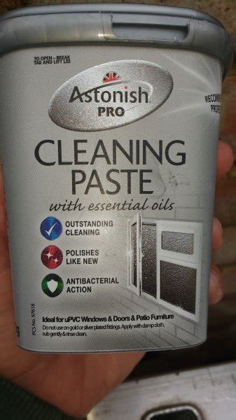 Astonish Pro Cleaning Paste Limited astonish pro cleaning paste 500g that you can use for upvc frames chit chat introductions