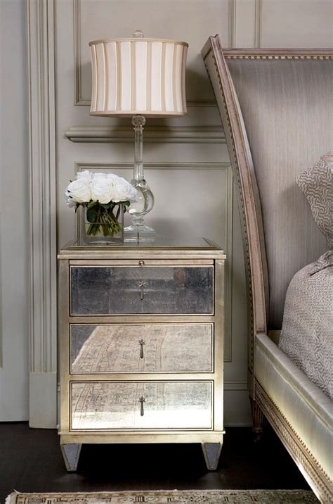 mirrored side table bedroom best 25 mirrored bedroom furniture ideas on pinterest