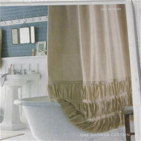 fabric shower curtains target target home tan ruched solid khaki fabric shower curtain
