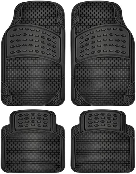 Used Rubber Mats by Car Floor Mats For All Weather Rubber 4pc Set Semi Custom