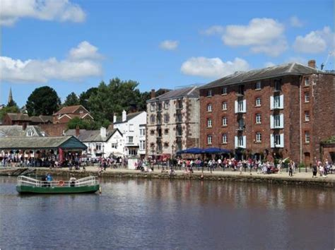 boat hire exeter exeter quay picture of exeter quay exeter tripadvisor