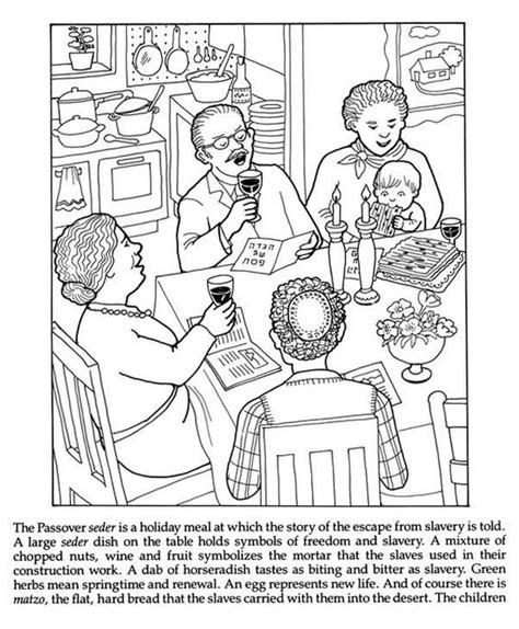 jewish holiday coloring pages coloring home