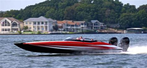 mti speed boats for sale the new high performance mti 340x catamaran outboard