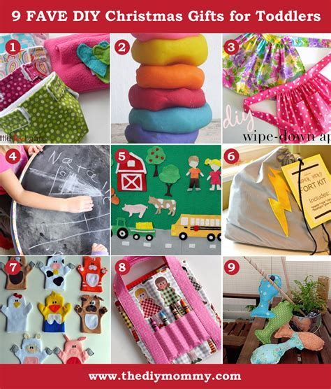 Handmade Gifts For Toddlers - a handmade diy toddler gifts the diy