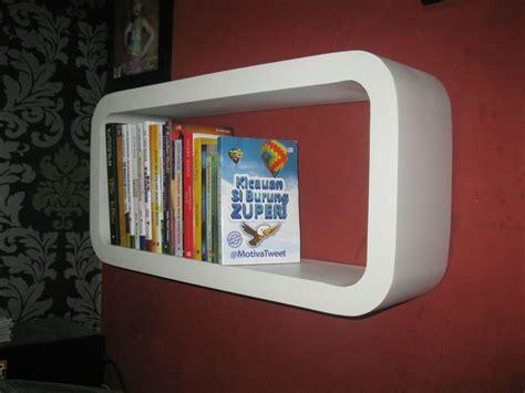 Jual Rak Buku Dinding Di Surabaya rak dinding minimalis safana furniture