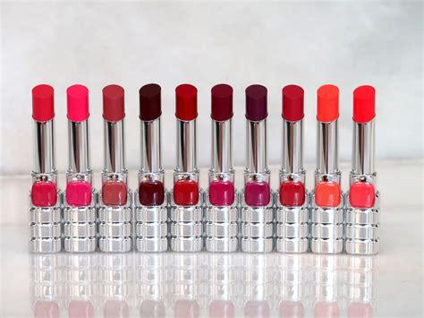 Review L Oreal Shine review swatches l oreal color riche shine lipsticks 10