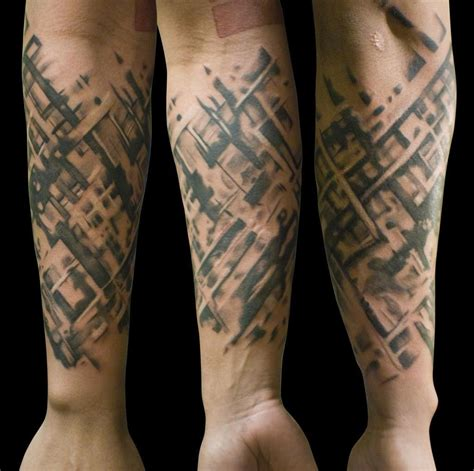 computer tattoo of a computer processor search