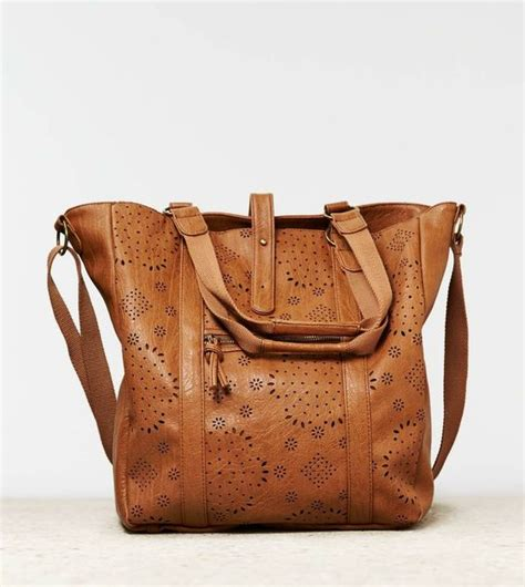 American Tote Bag american eagle outfitters aeo faux leather tote bag