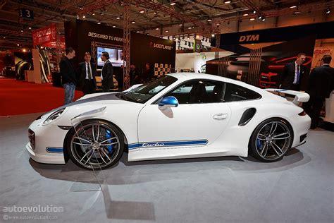 Tech Art Porsche by Essen 2013 Techart Porsche 911 Turbo Live Photos