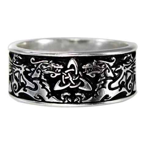 Ring Gorden Cincin Gorden Jumbo renaissance wedding rings large wide celtic ring triquetra renaissance wedding