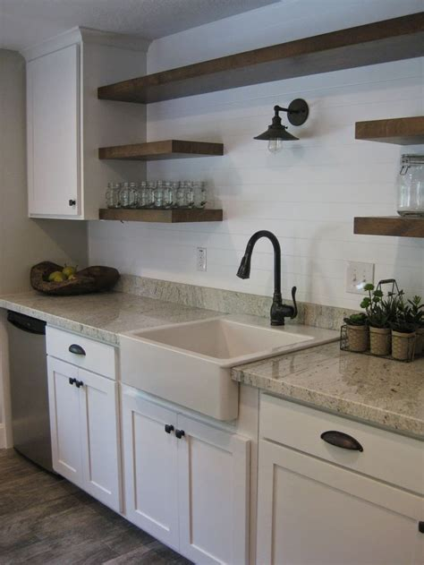 Floating Kitchen Cabinets by Farmhouse Sink Ikea Flooring Home Depot Montagna