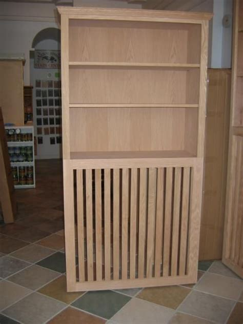 radiator bookcase for the home