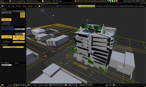 Ubuntu Cad Home Design by Workflow To Create Architectural Visualization In Linux