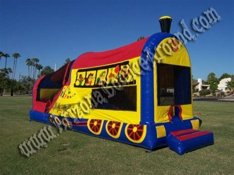 bounce house rentals az train bounce house rental rent a choo choo train moonwalk phoenix az