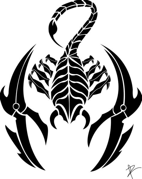 tribal scorpio tattoos zodiac tattoos and designs page 83