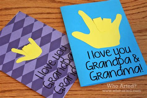 grandparents cards to make grandparent s day cards who arted