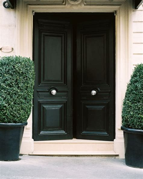black front door 27 chic dark front doors to try for your entry shelterness