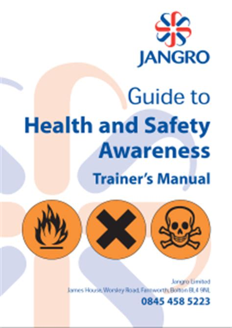 health safety for the cleaning industry