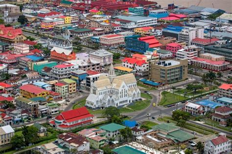 how many towns are there in guyana worldly rise guyana the land and the people
