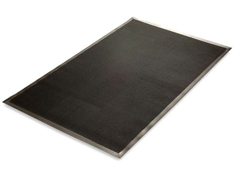 Rubber Mat Company by Rubber Brush Entrance Mat 3 Sizes
